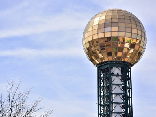 Enjoy a 360-degree view ofdowntown 300 feet above the ground at the Sunsphere.