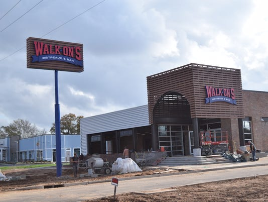 Walk-Ons Bistreaux & Bar is set open on South MacArthur Drive.
