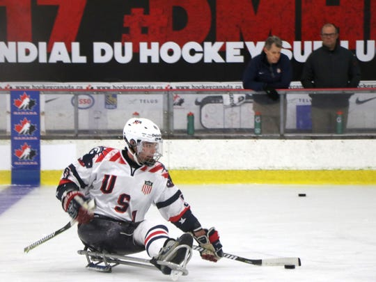 Jack Wallace of Franklin Lakes will be one of the youngest players on the United States sled hockey team in Pyeongchang.