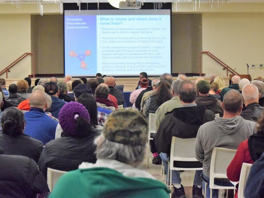 More than 200 residents attended a meeting hosted by