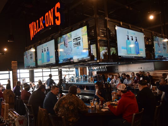Walk-Ons Bistreaux & Bar located on South MacArthur Drive in Alexandria held a private event for Chamber of Commerce members and invited guests. The new sports bar opens to the public Monday.