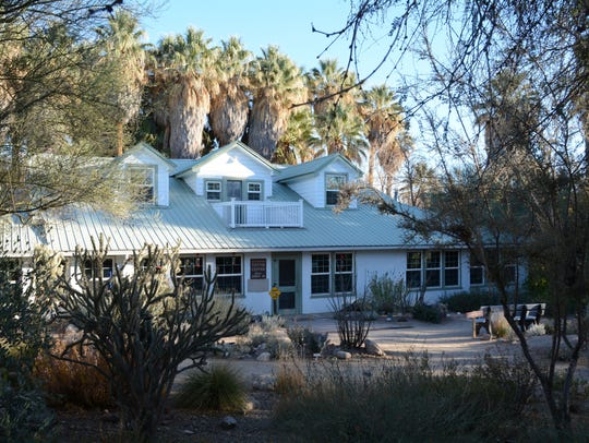 The visitor center at the Hassayampa River Preserve
