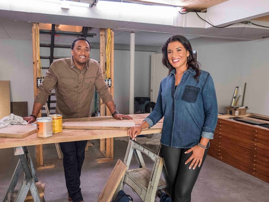 DeRon Jenkins and Page Turner on 'Flip or Flop: Nashville.'