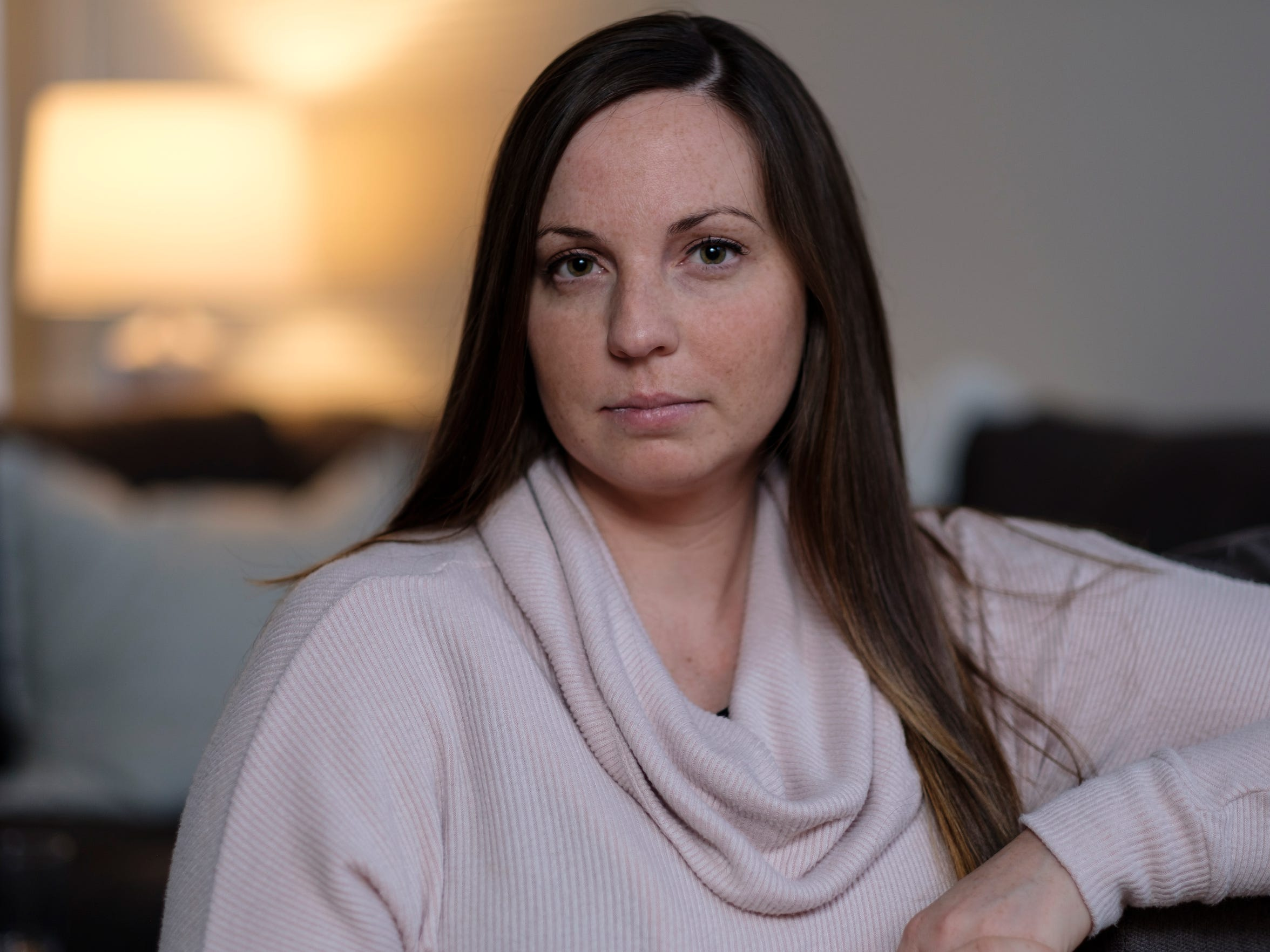 In 2004, Brianne Randall-Gay, then a 16-year-old soccer and tennis player, told her parents Nassar treated her back pain by touching her bare breast and putting his hand between her legs. Her parents told the Meridian Township Police, who accepted Nassar's response that it was a legitimate treatment.