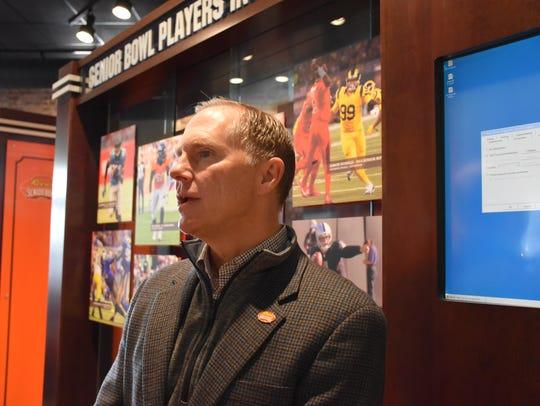 Senior Bowl executive director Phil Savage discusses