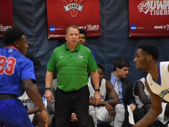 UWF men's basketball coach Jeff Burkhamer has led to the Argos to a dramatic turnaround on the court, but now is hoping for more impact in home crowds.