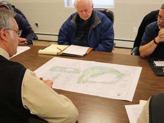 Marblehead Village Council's parks committee met with
