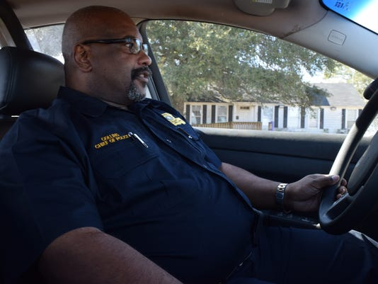LSUA Chief of Police Collins.