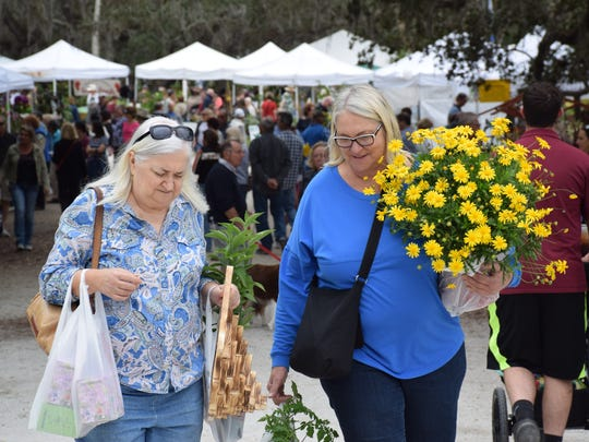 Thousands attended this year's Gardenfest.