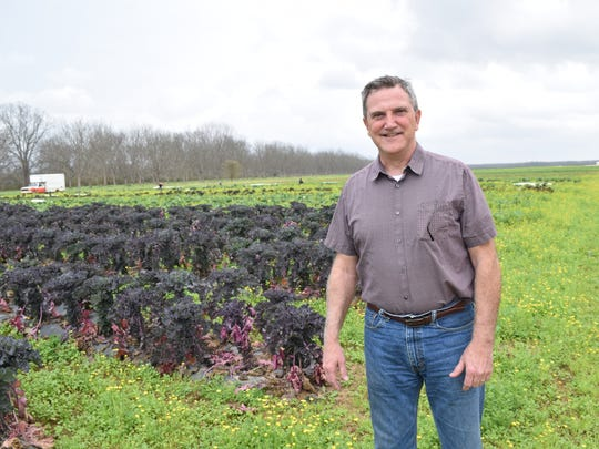 Lee Weeks, operations manager of Inglewood Farm in central Louisiana, was among the first to apply for the Louisiana Grown program in January 2013.