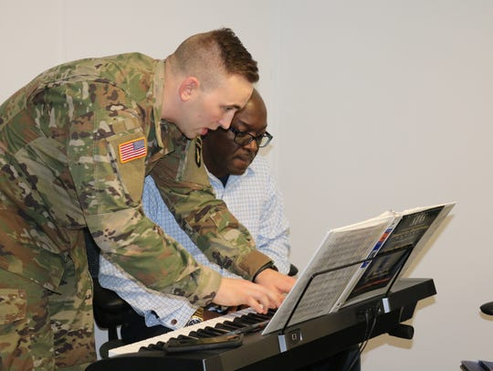 FORT CAMPBELL, Ky. — Spc. Walter Reuter, a pianist