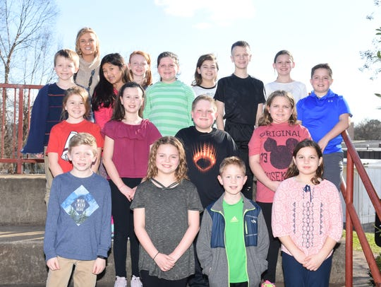 Student Council members pictured are: (front) Jack