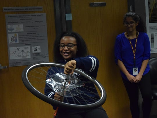 The MagLab open house on Saturday attracted hundreds