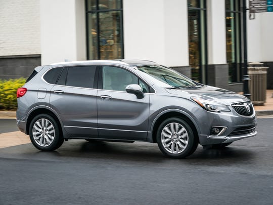 The 2019 Buick Envision  compact SUV.