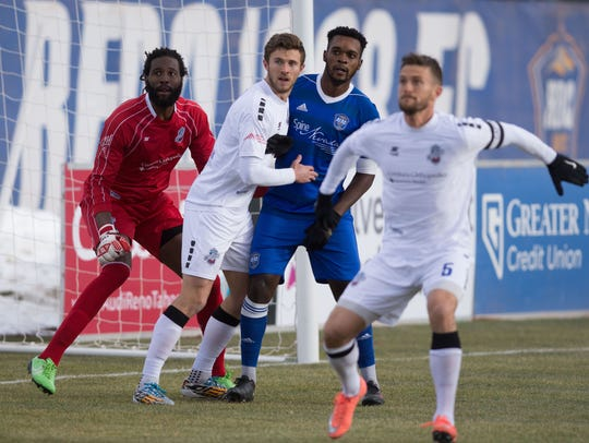 Reno 1868 FC played Colorado Springs Switchback on