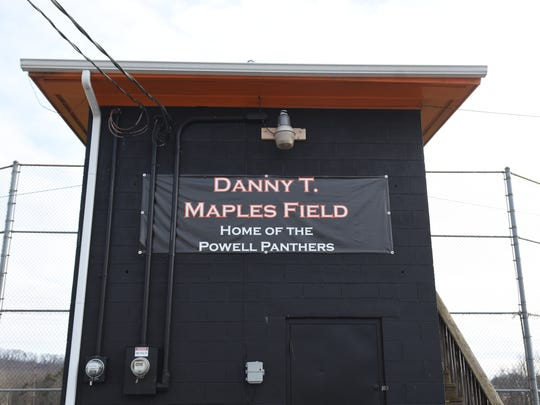 Danny Maples Field, home of the Powell Panther baseball team.