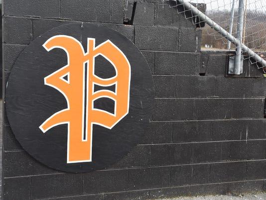 Powell baseball logo