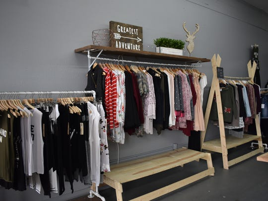 Northwest Clothing Company sells a variety of women's clothing, including dresses, shirts, pants, leggings, sweaters and more. Everything in the store is $50 or less.