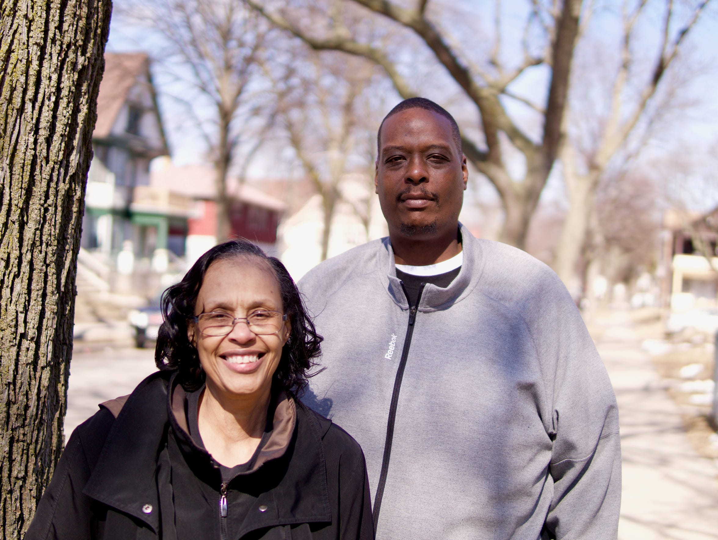 Josephine Key and her son, James, help run a block group on N. Buffum St., in Milwaukee.