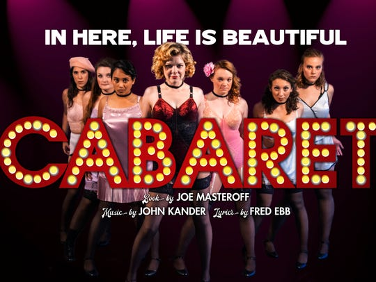 "A promotional poster for Florida Rep's ""Cabaret"""