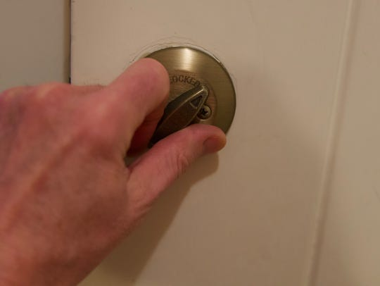 Make sure your deadbolts are in good working order.