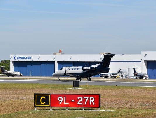 Airport opens runway