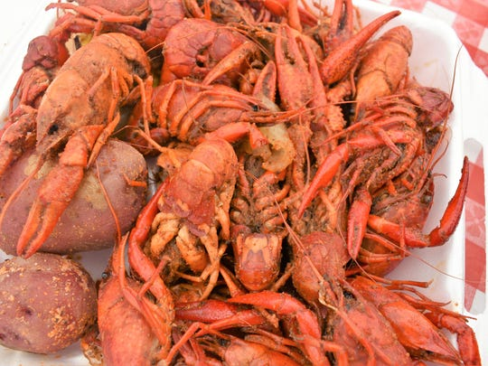 Crawfest 2018 at Betty Virginia Park on Saturday.
