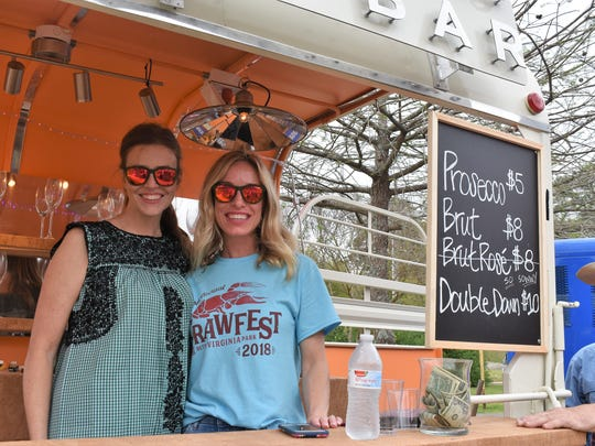 Champagne Charlie's Mobile Bars debuted in March at Crawfest in Shreveport.