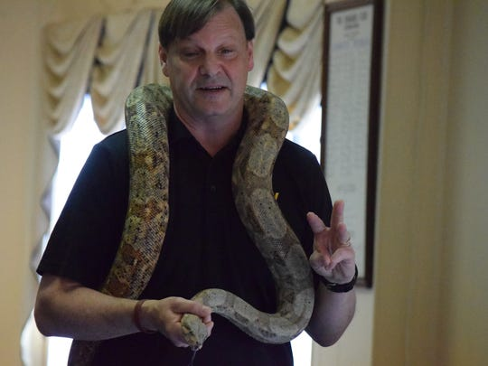 Jeff Armstrong of Animal Tales shares about his boa
