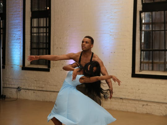 Dancers performing at the 2017 Shufflin' Along Foundation Awards Ceremony.