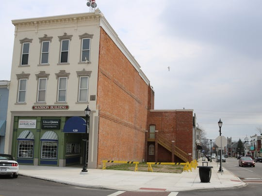 The city is keeping its options open on its newly acquired property downtown at 131 Madison St.
