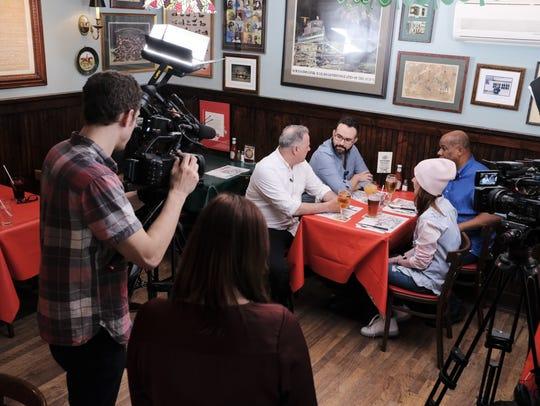"Rob Petrone of ""Restaurant Hunter"" at The Blazer Pub in North Salem."