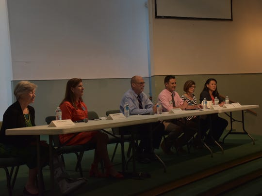 Candidates for the Santa Rosa County School Board -