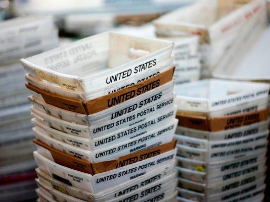 Postal Service Sorted Mail