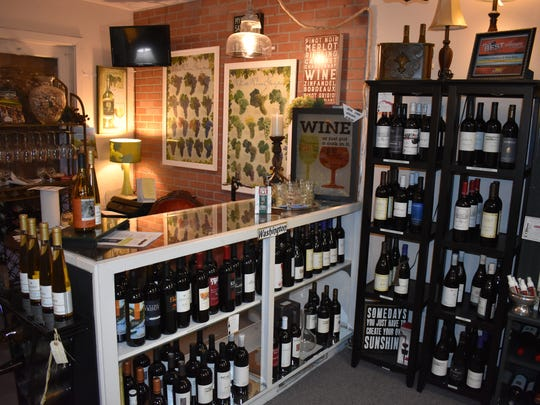 Pam and Gary Hanson unveiled Cameo Boutique's wine