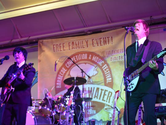 Beatles tribute act The Nowhere Band returns this Friday