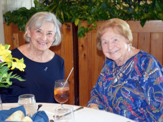 Helen Dodds and Miriam Grabow at the Donor Appreciation