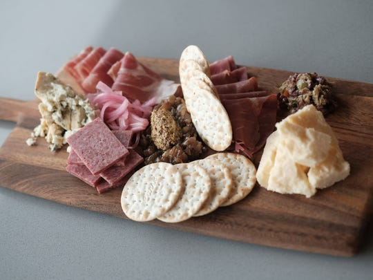 The charcuterie board at MP Social.