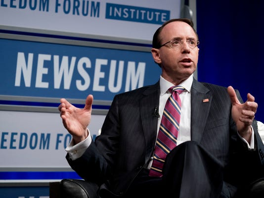 Rod Rosenstein speech
