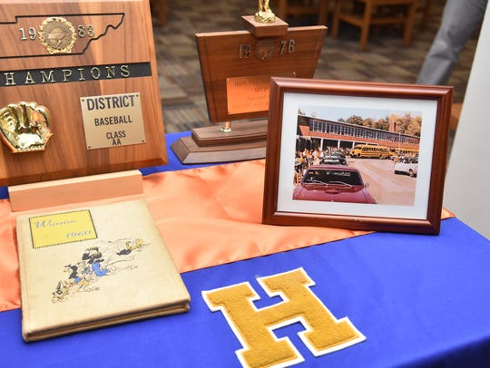 Items from Holston High School and Holston Middle School