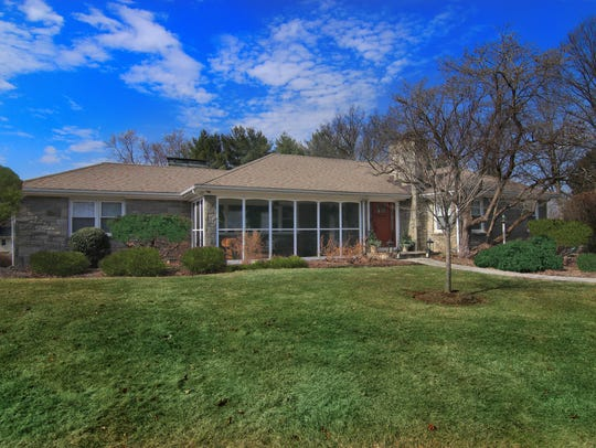 This home was featured in a recent real estate section of the Courier News.