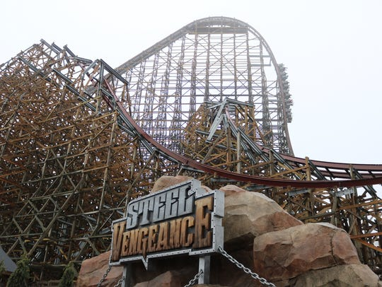 Cedar Point's new coaster Steel Vengeance was trending on Twitter for all the wrong reasons on Saturday after a minor bump between train cars forced its shutdown.