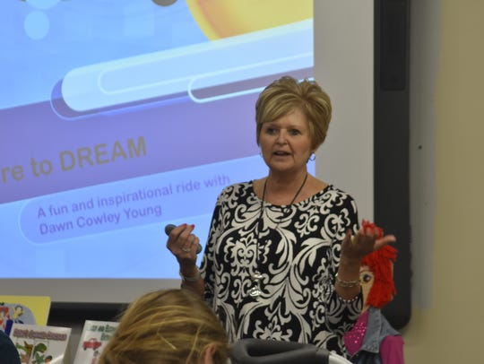 Dawn Young, author and retired East Cheatham Elementary