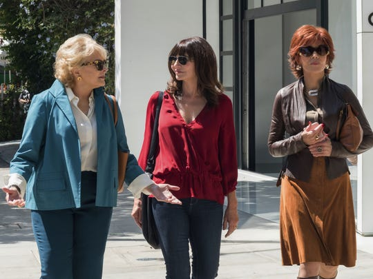 Candice Bergen, from left, Mary Steenburgen and Jane Fonda star in 'Book Club.'