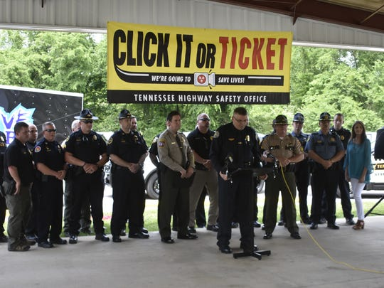 Law Enforcement Liaison Tony Burnett of the Tennessee