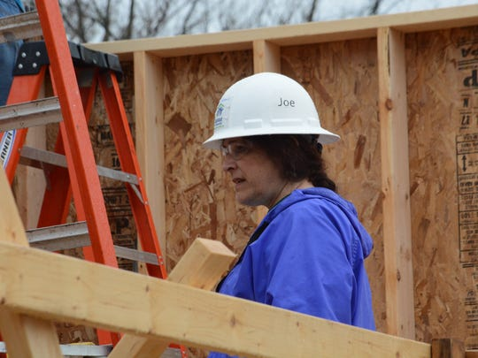 Diane McGeen, executive director of Habitat for Humanity