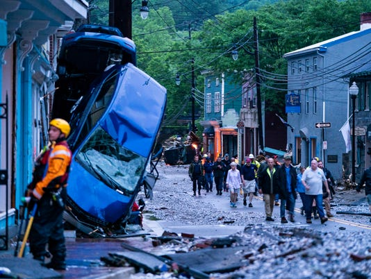 EPA USA FLOOD ELLICOTT CITY DIS FLOOD USA MD
