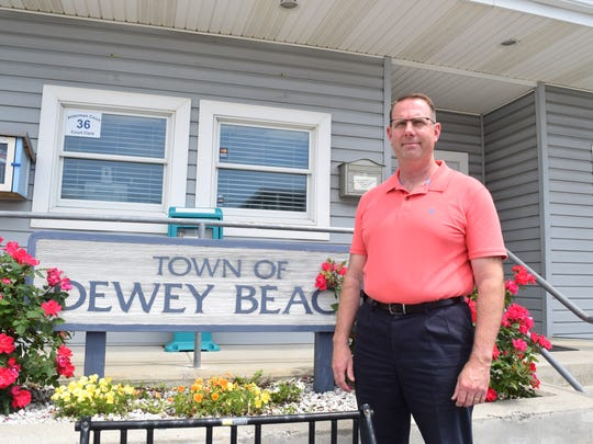 Scott Koenig is Dewey Beach's new town manager.