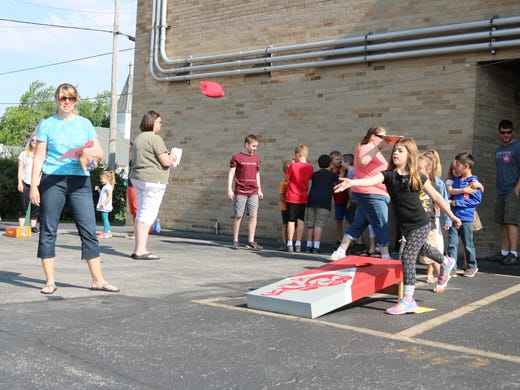 ICS students celebrate last day of school with an outdoors