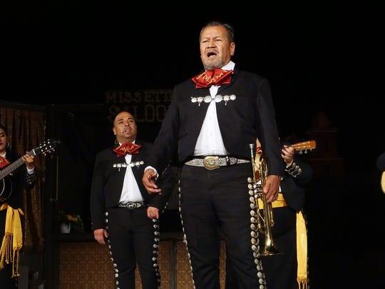 Mariachi Paso del Norte is the featured mariachi in